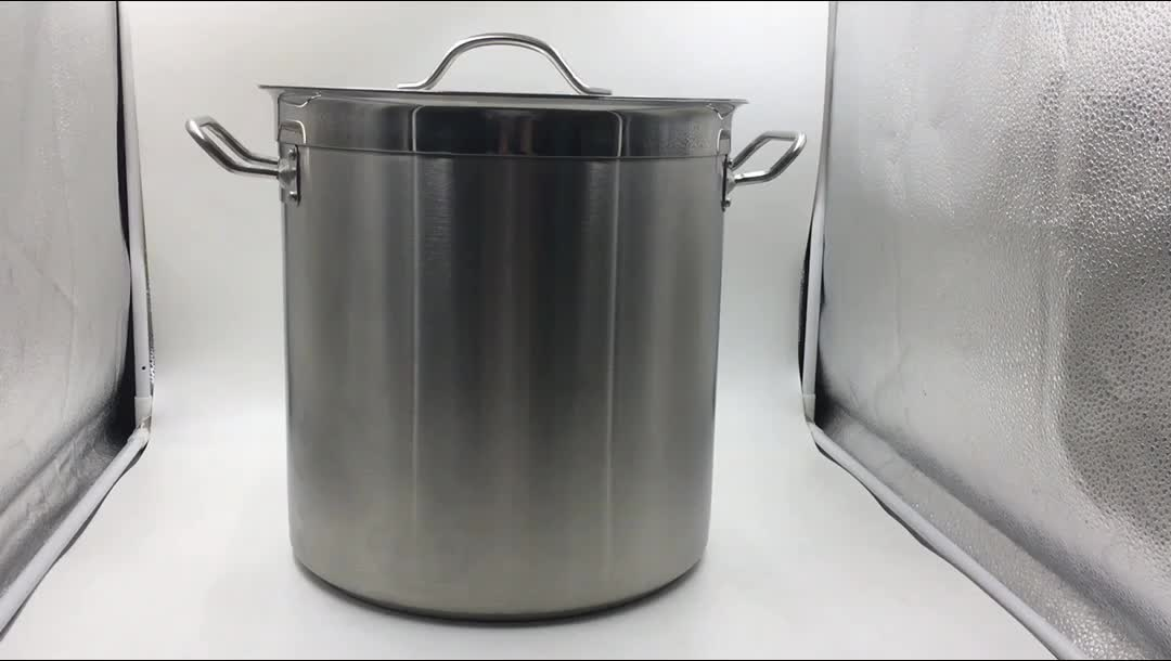 Best sale Biryani stainless steel cooking pot with composite bottom