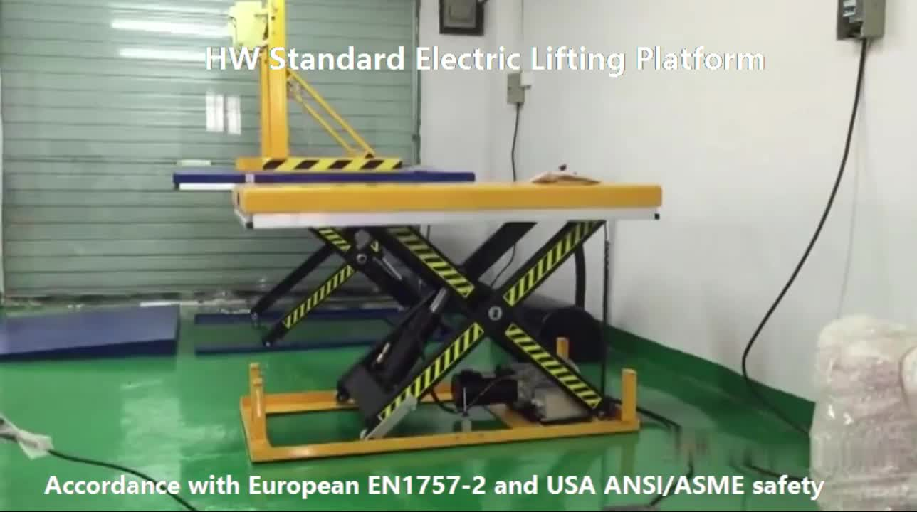 HW4007 Fast Delivery Telescopic Lifting Equipment