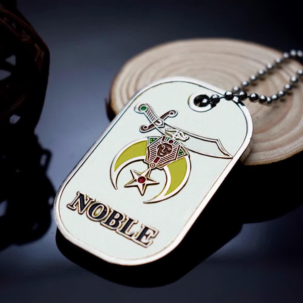 wholesale custom Metal pendant military Dog tag
