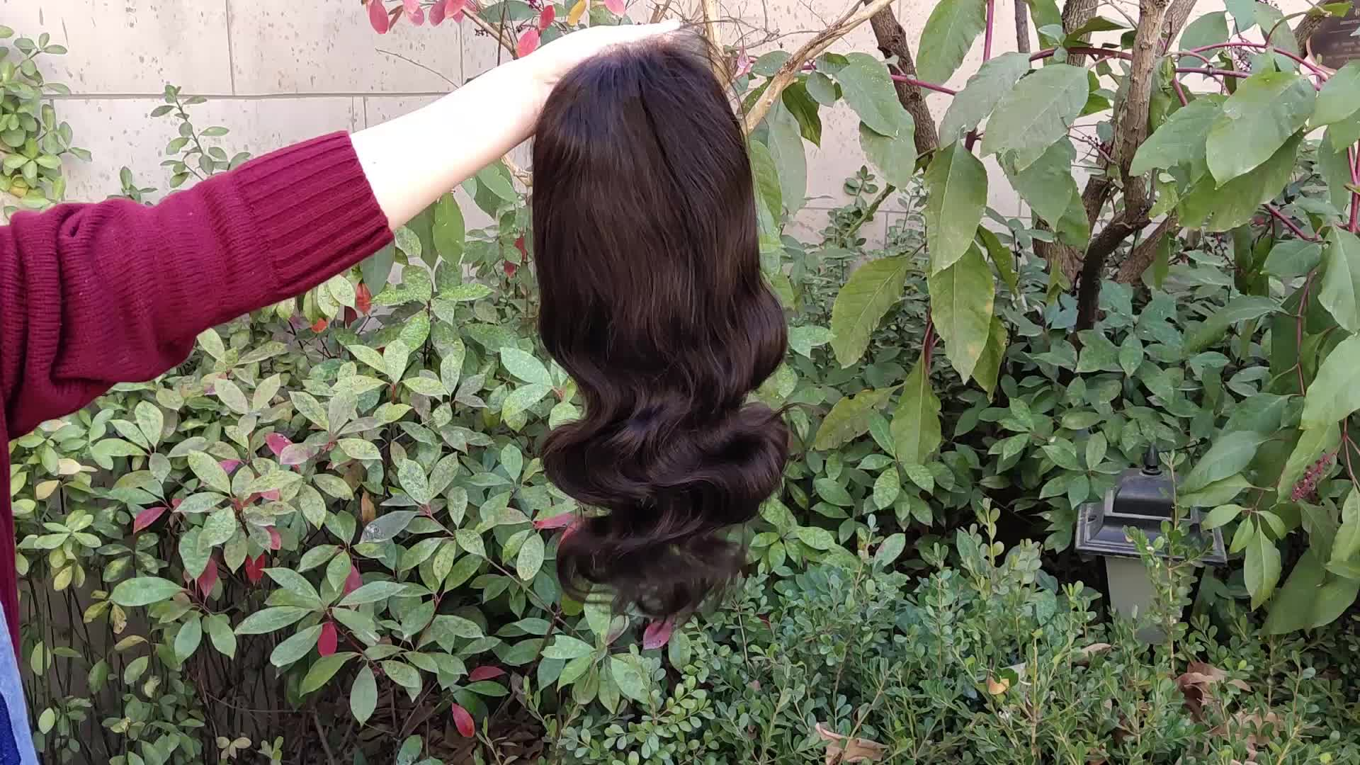 Haiyi Hair High Quality New Style Wig Customized Body Wave / Silky Straight/ Curly 130% Density Women Full Lace Wig