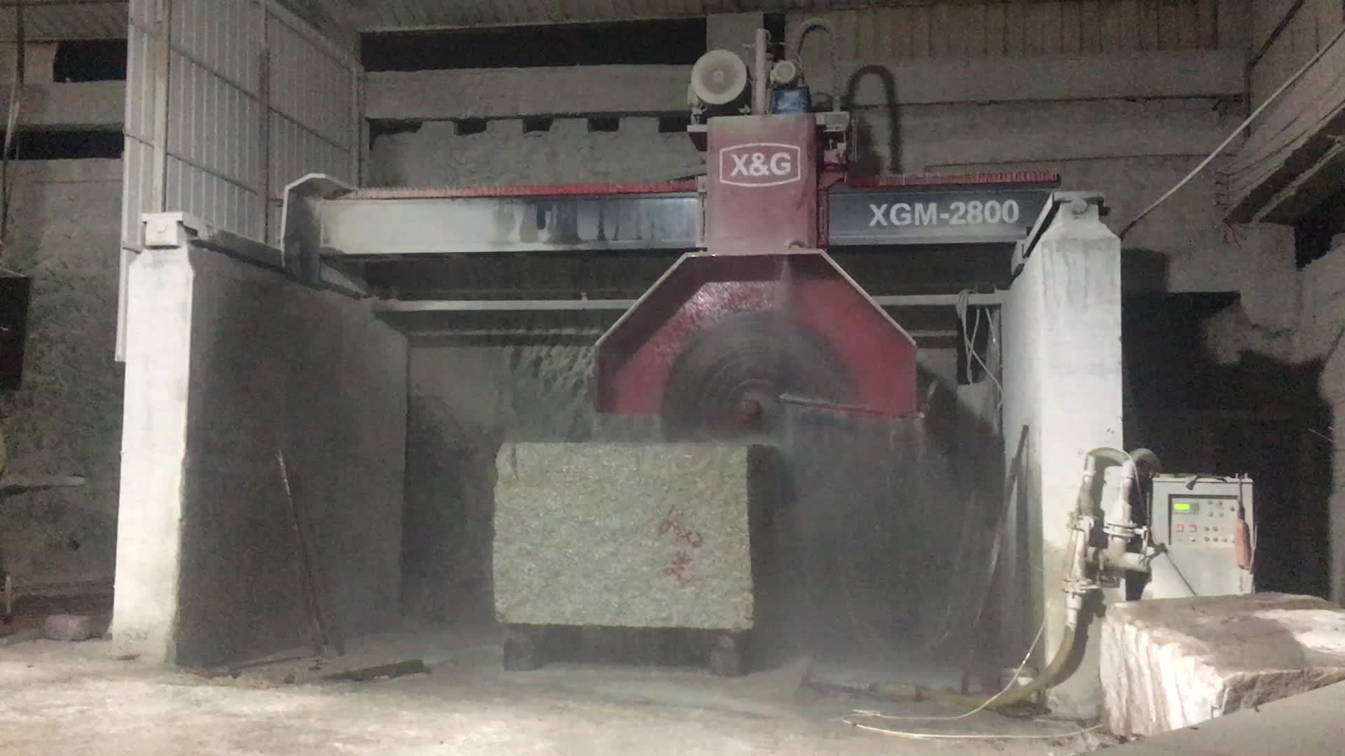 Bridge cutting machine granite block stone cutting machinery for stone marble