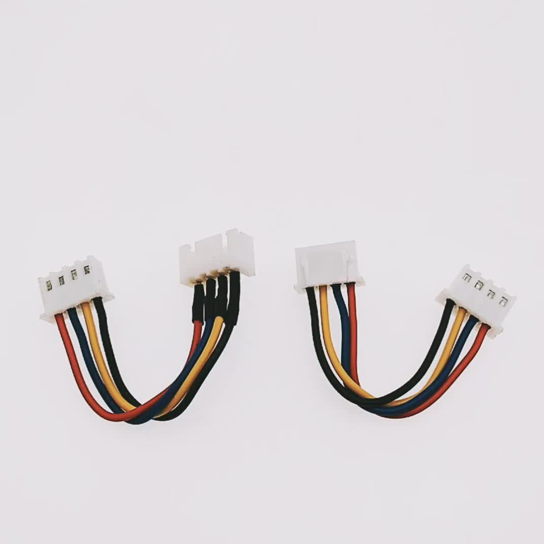 both ends jst xh 4 pin 2.54mm pitch female connector lipo battery rc parts wire harness