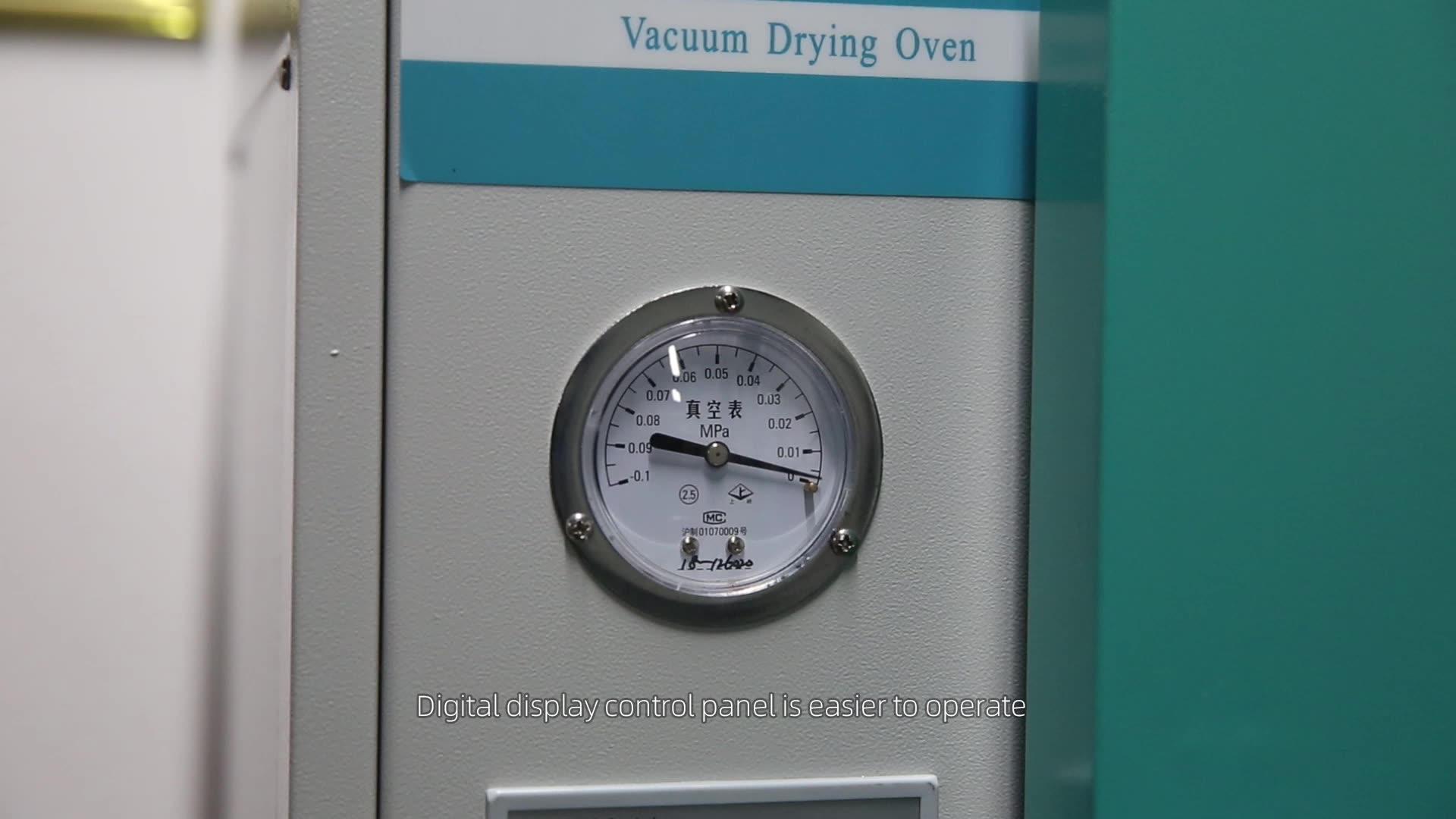 Laboratorio di Vuoto Elettrica Termostatica Forno di Essiccazione