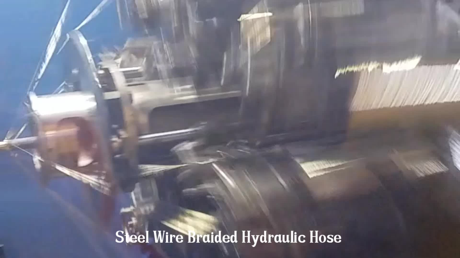 Heat Resistant High Pressure High Temperature Rubber Hose SAE DIN EN