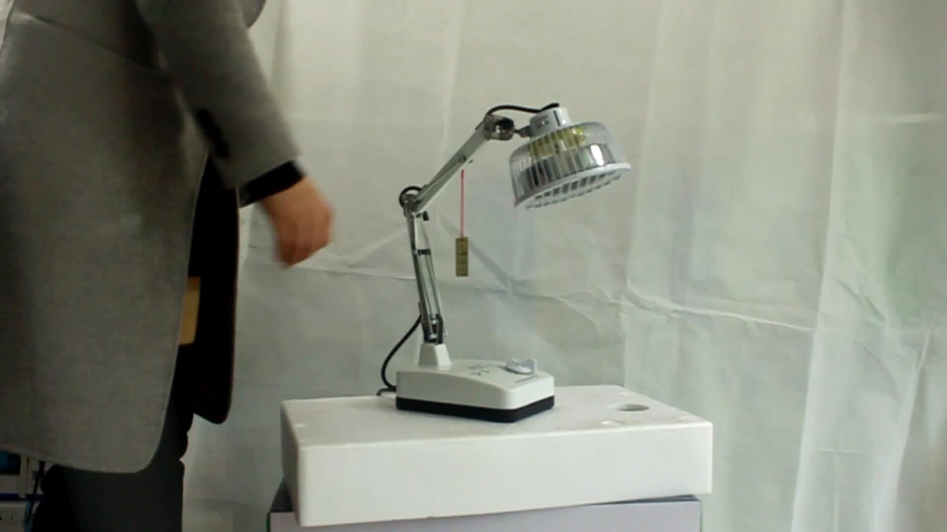 Riscaldamento a raggi infrarossi Della Lampada Della Luce Rossa Terapia TDP con Medico CE Approvato per la Terapia Trattamento Muscolo Comune alleviare il mal di Schiena