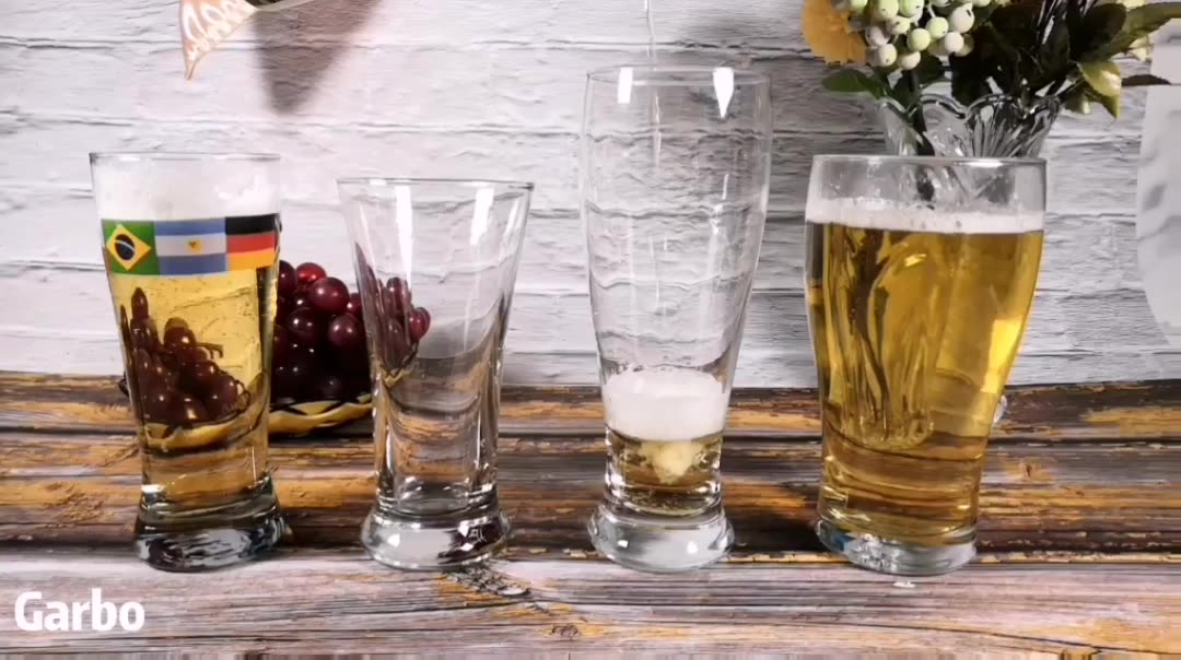 Pint Cup Wine Beer Mug Glasses 16Oz Brew With Sublimated Craft Govino Decal 500Ml Pilsner Glass Tumbler
