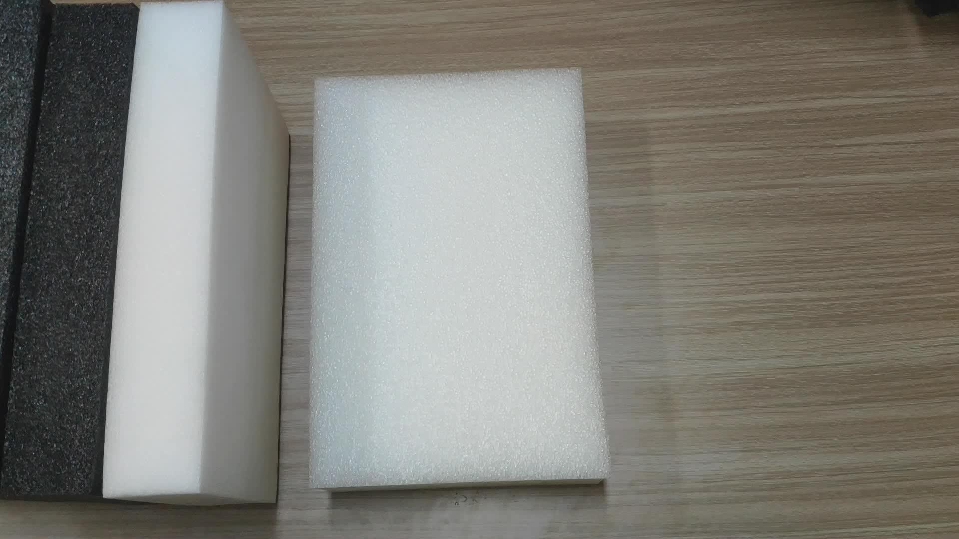 Fábrica de vender diretamente ROHS personalizado cortado forma à prova de choque de alta densidade eva preenchimento inserções de espuma para a embalagem de protecção