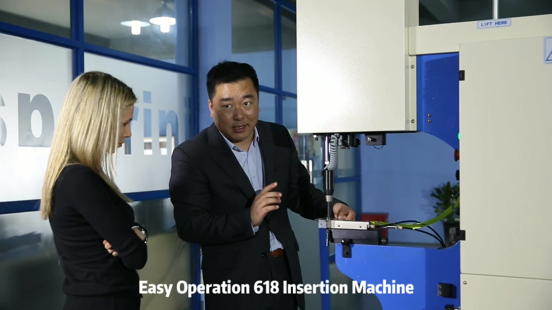 618 Plus Hardware Insertion Machine With Forward Limited Function
