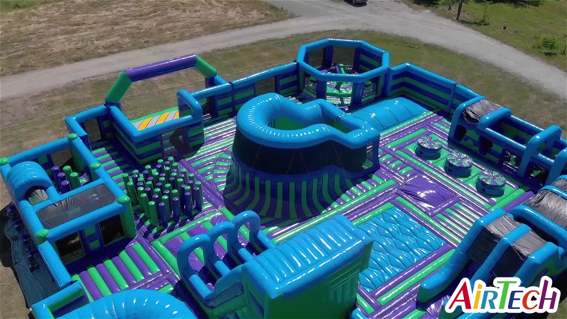 HOT inflatable game center kids fun park inflatable indoor arena