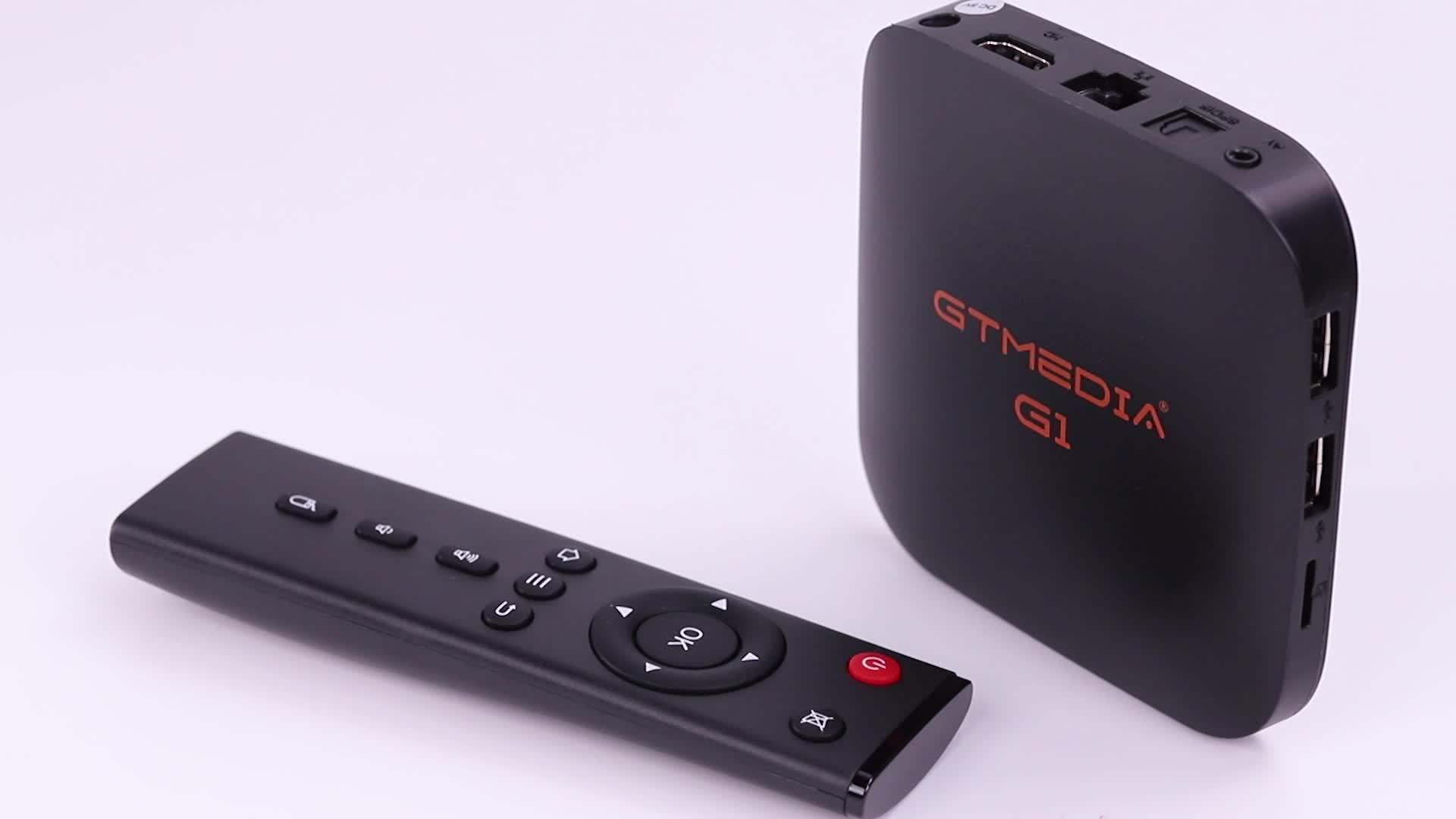 China Hersteller Beste Android TV Box 2019 RJ45 Kabel Netzwerk Verbindung MPEG 4 Decoder Smart TV Receiver