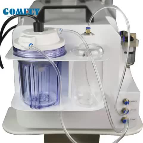 Facial dermabrasion jet peel water oxygen therapy skin cleaning skin spa machine