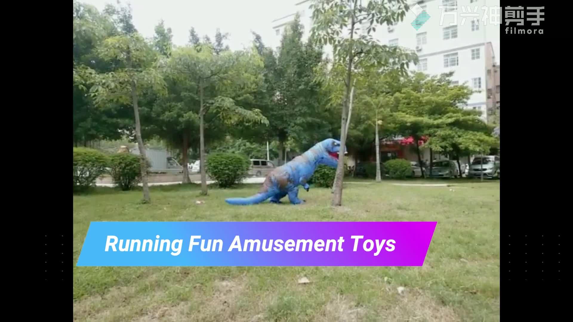 T-Rex Kostüm Aufblasbare Dinosaurier Kostüm Für Halloween Aufblasbare Maskottchen Kostüm