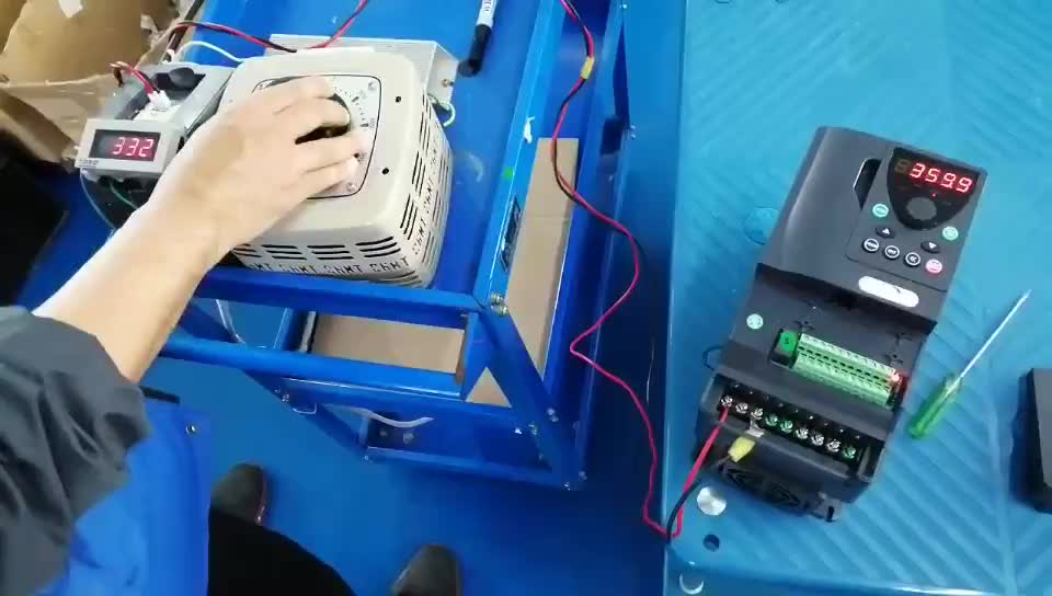 1.5-2.2kw customized frequency converter changer  inverter for Glass manufacturing machinery
