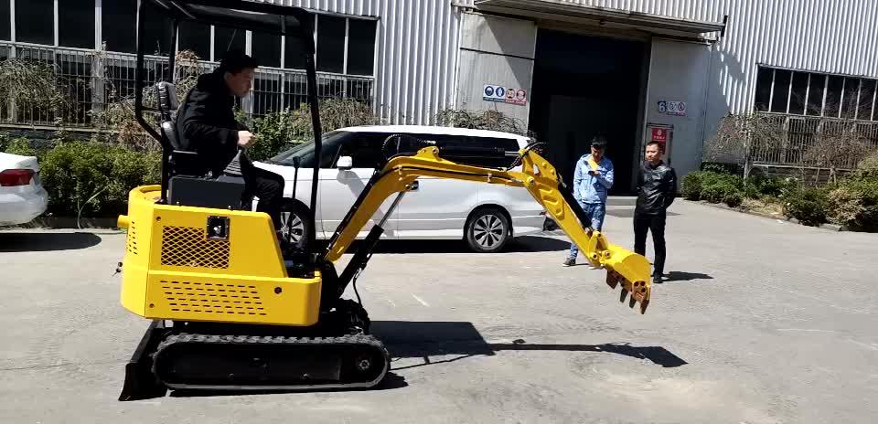 1.5 ton piccolo mini escavatore prezzo per il commercio all'ingrosso in Shandong Jining
