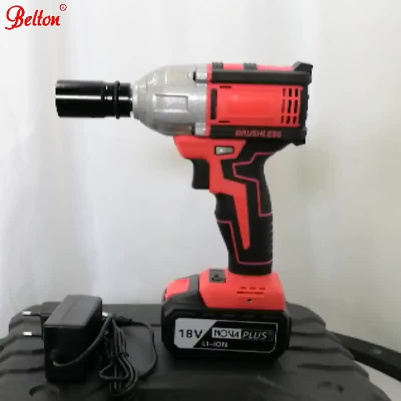 factory price Belton portable use hand tools 8905 18V 3A electric impact wrench