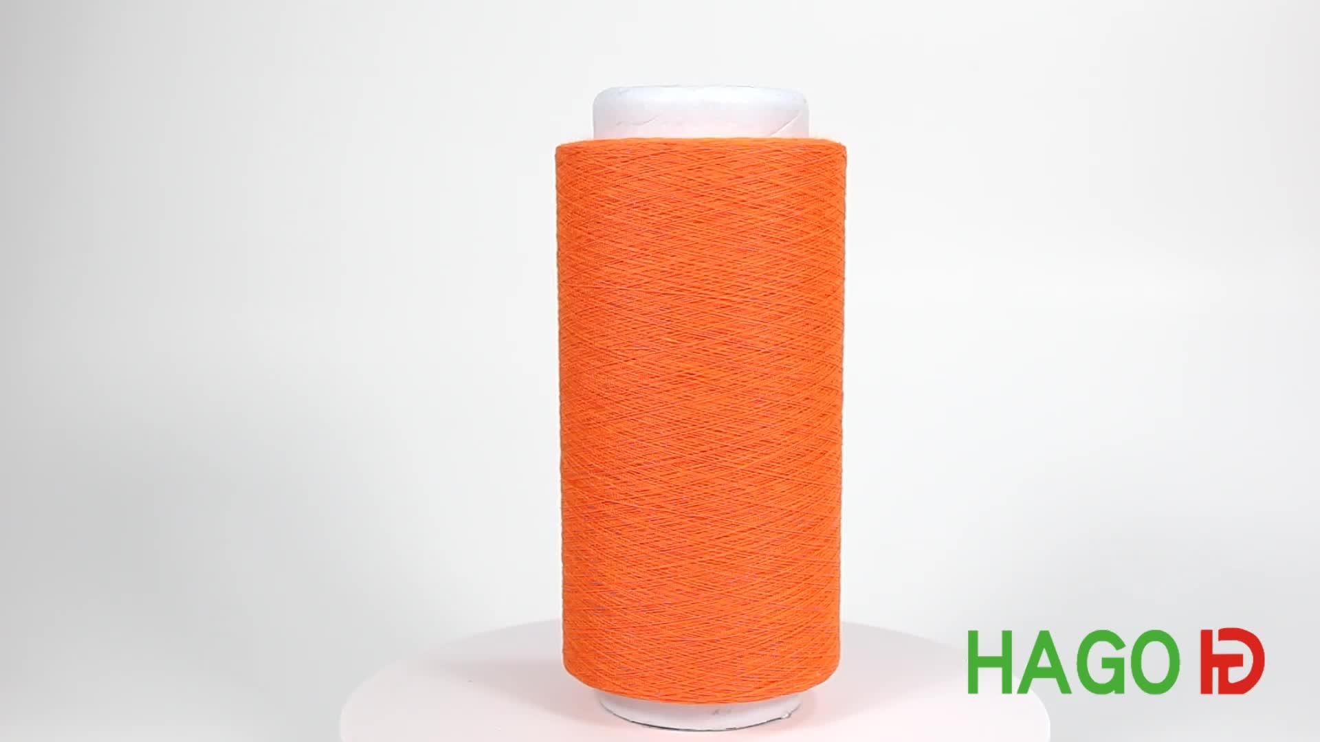 ファンシー糸を手で編むラダー18秒純粋なコットンの糸で編む糸の製造業者で中国