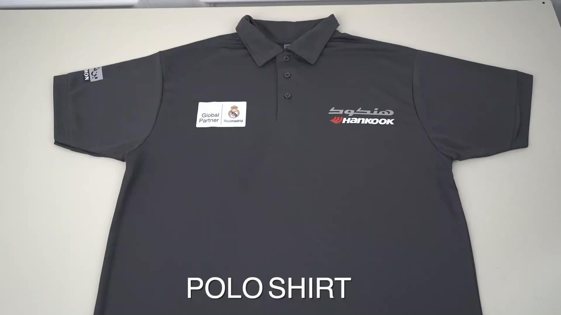 OEM गोल्फ पोलो शर्ट पुरुषों के लिए पेशेवर निर्माता