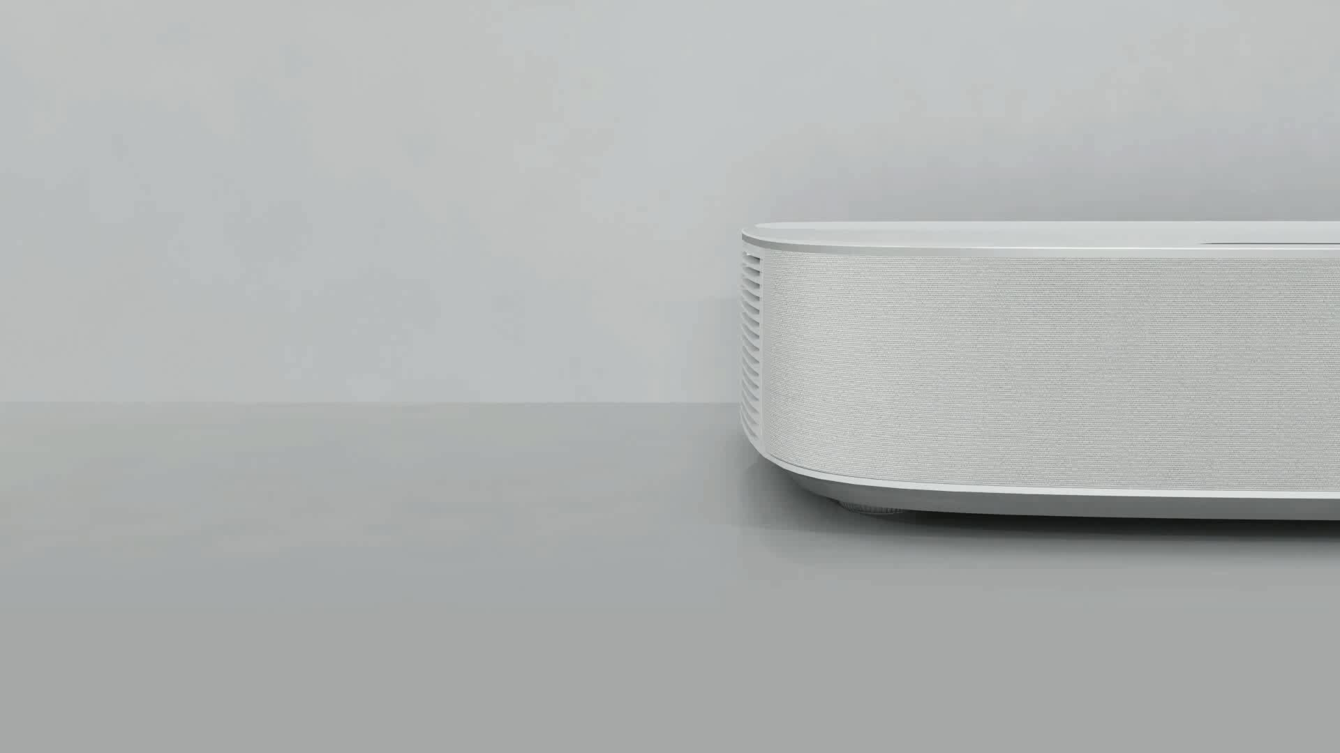 XGIMI Lune 4K Ultra Short Throw Laser Projector with 2200 Ansi Lumens Android WiFi 3D Beamer for Multimedia Home Cinema