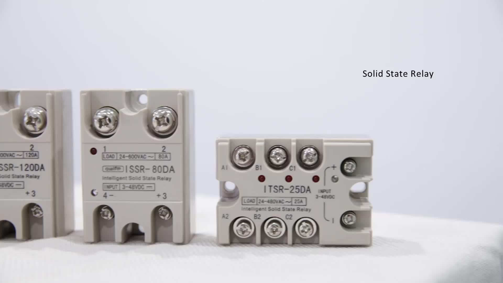 Nur 65g gewicht intelligente 40A DC SSR Solid State Relais