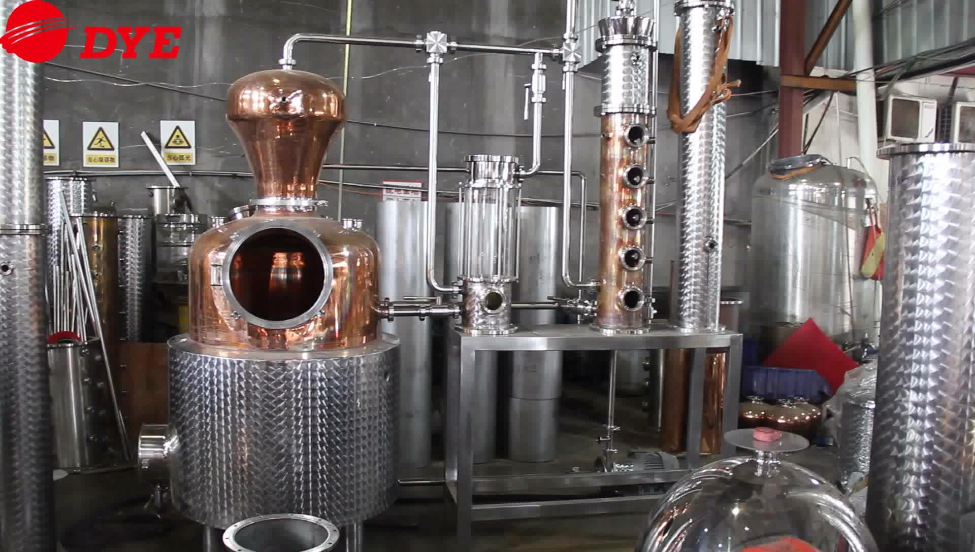200L copper distiller for prime vodka