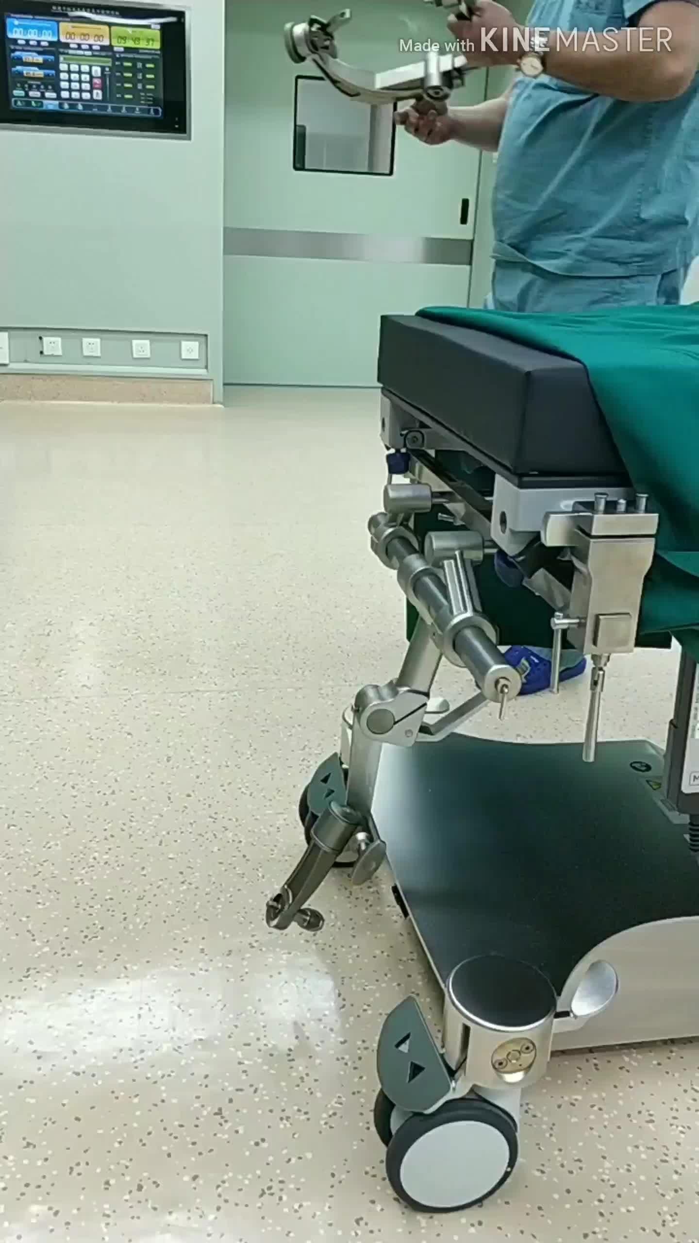 頭蓋安定化システム/3 ポイント頭蓋骨クランプ/ヘッド修正/よう mayfield ドロ/外科ヘッドレスト/OT テーブルアタッチメントアクセサリー