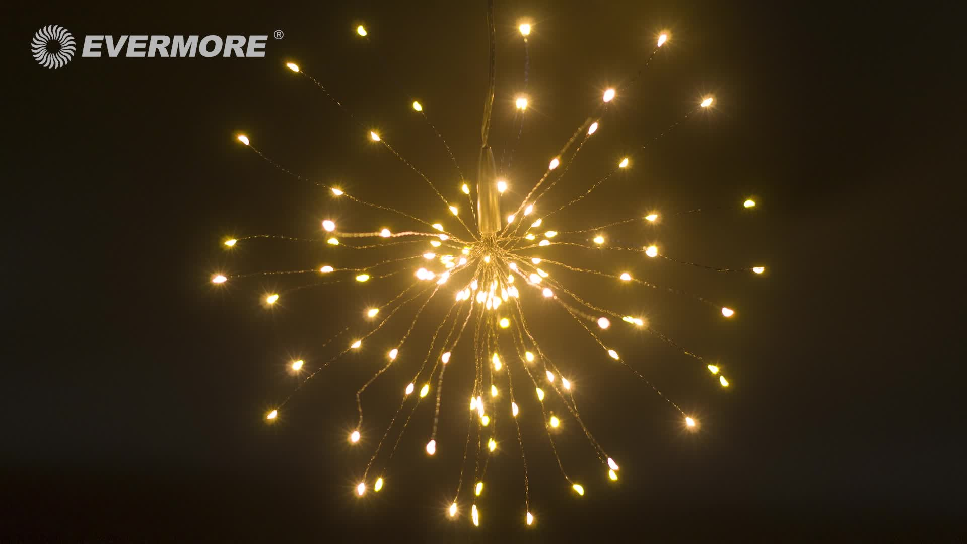 Starburst wholesale Firework fairy star decorations solar christmas led lights outdoor led christmas lights