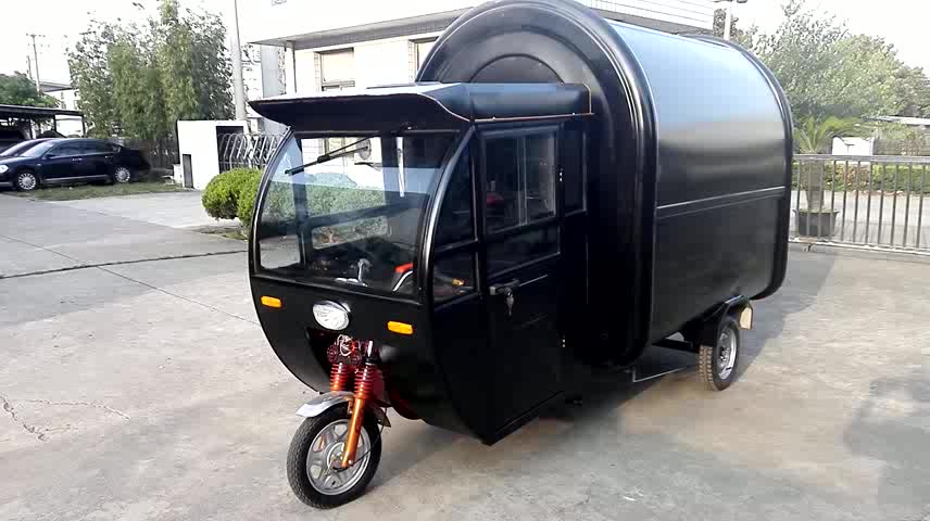 Indonesian street food vendors | Very typical street ...  |Asian Food Carts Wheels