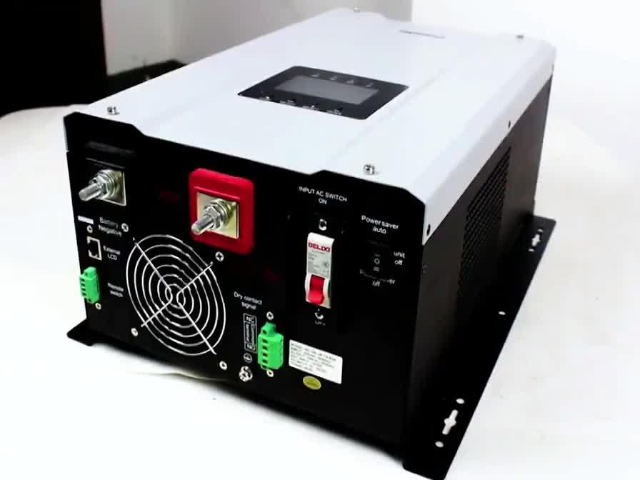 3kw 5kw solar panel inverter off grid solar inverter system with batteries pure sine wave power