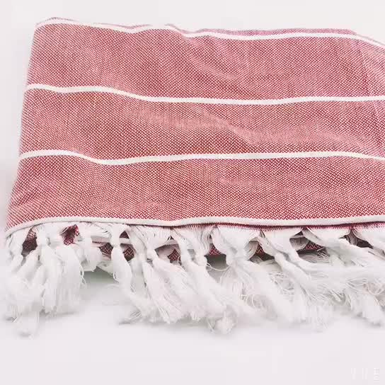 2018 Best Quality Turkish Cotton Fouta Spa Bath Beach Towel For Home Use and Gift