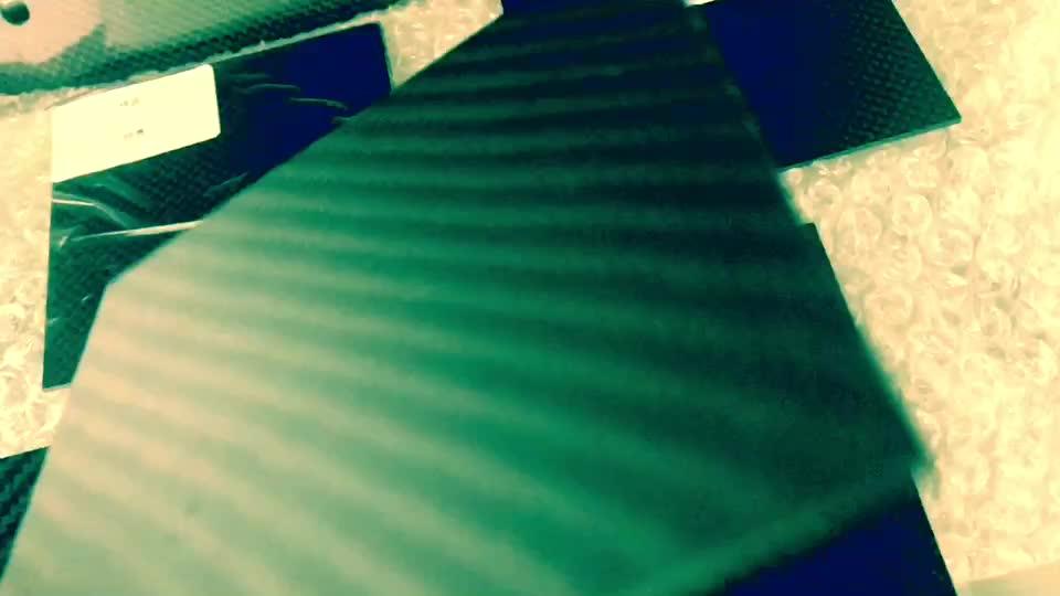 Custom 3D Cad Lavorazione di Scansione di Servizio Modello In Fibra di Carbonio Parti di CNC di Taglio