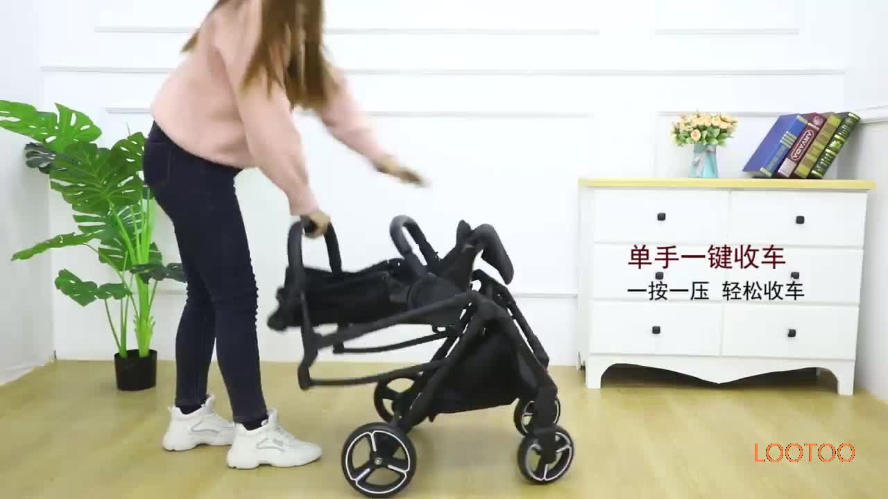 newborn gifts items Aluminum frame high landscape luxury prams 3 in 1 baby strollers wholesale with car seat