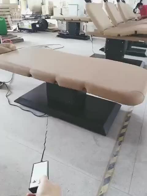 Elektrikli güzellik yüz yatak kaldırma masaj yatağı masa SPA