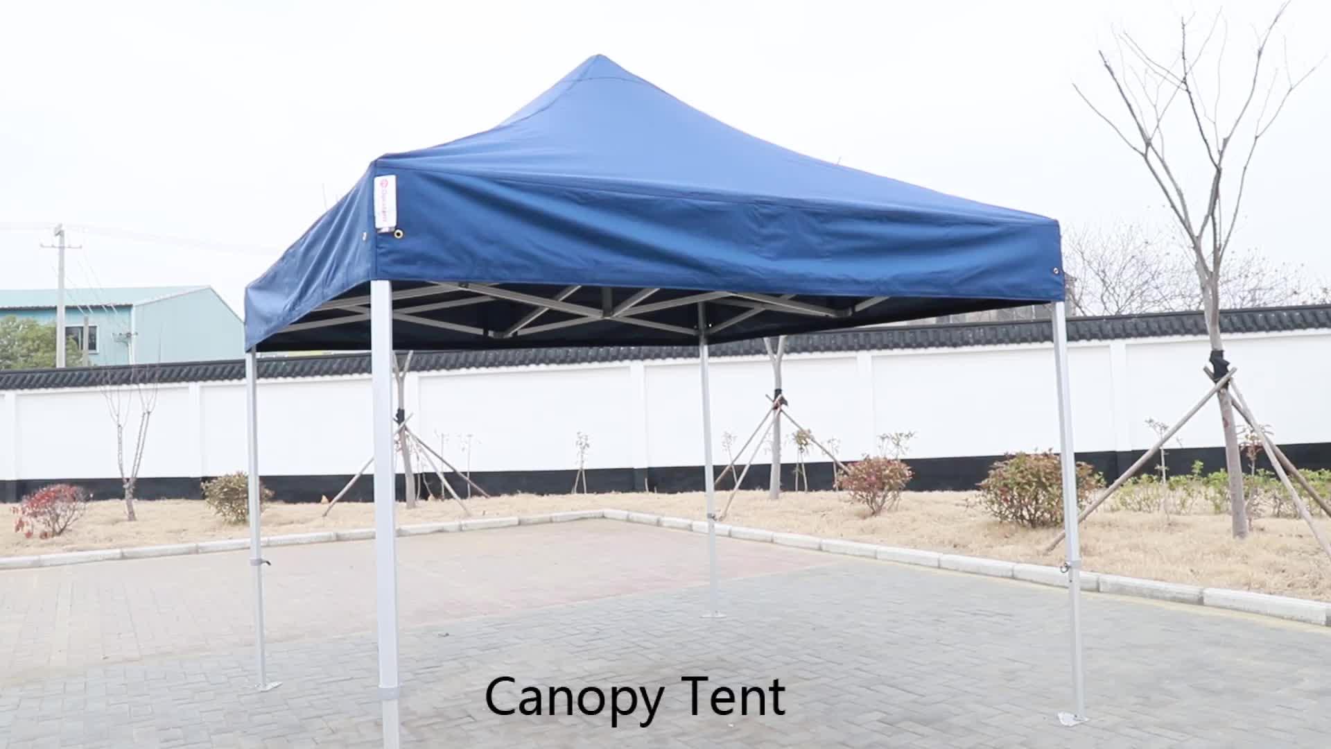 Tente De Publicité personnalisée En Aluminium Structure Pliante Chapiteau de Salon Commercial