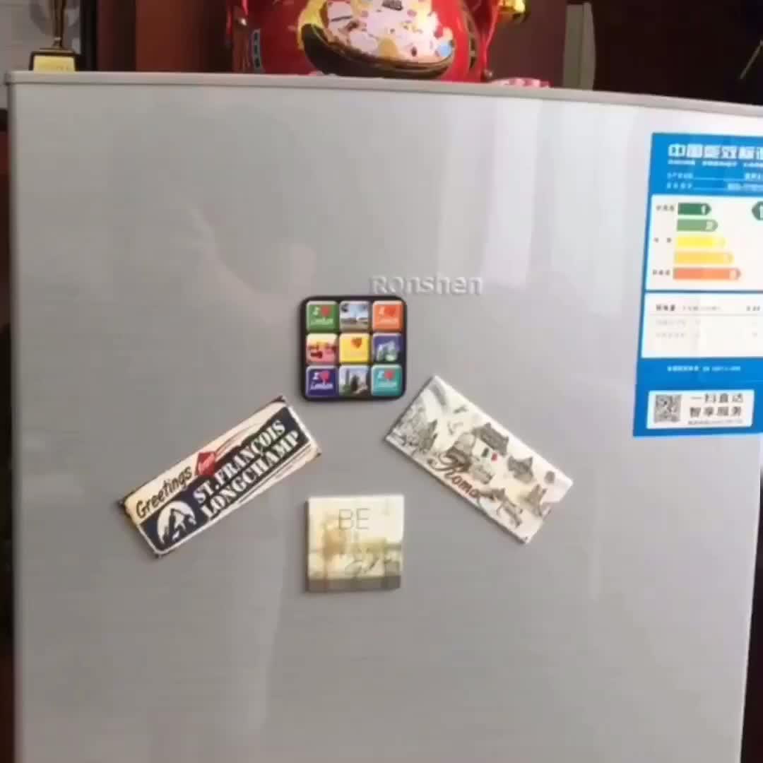 Die ตัดตู้เย็นแม่เหล็กสติกเกอร์รูปสติกเกอร์แม่เหล็ก