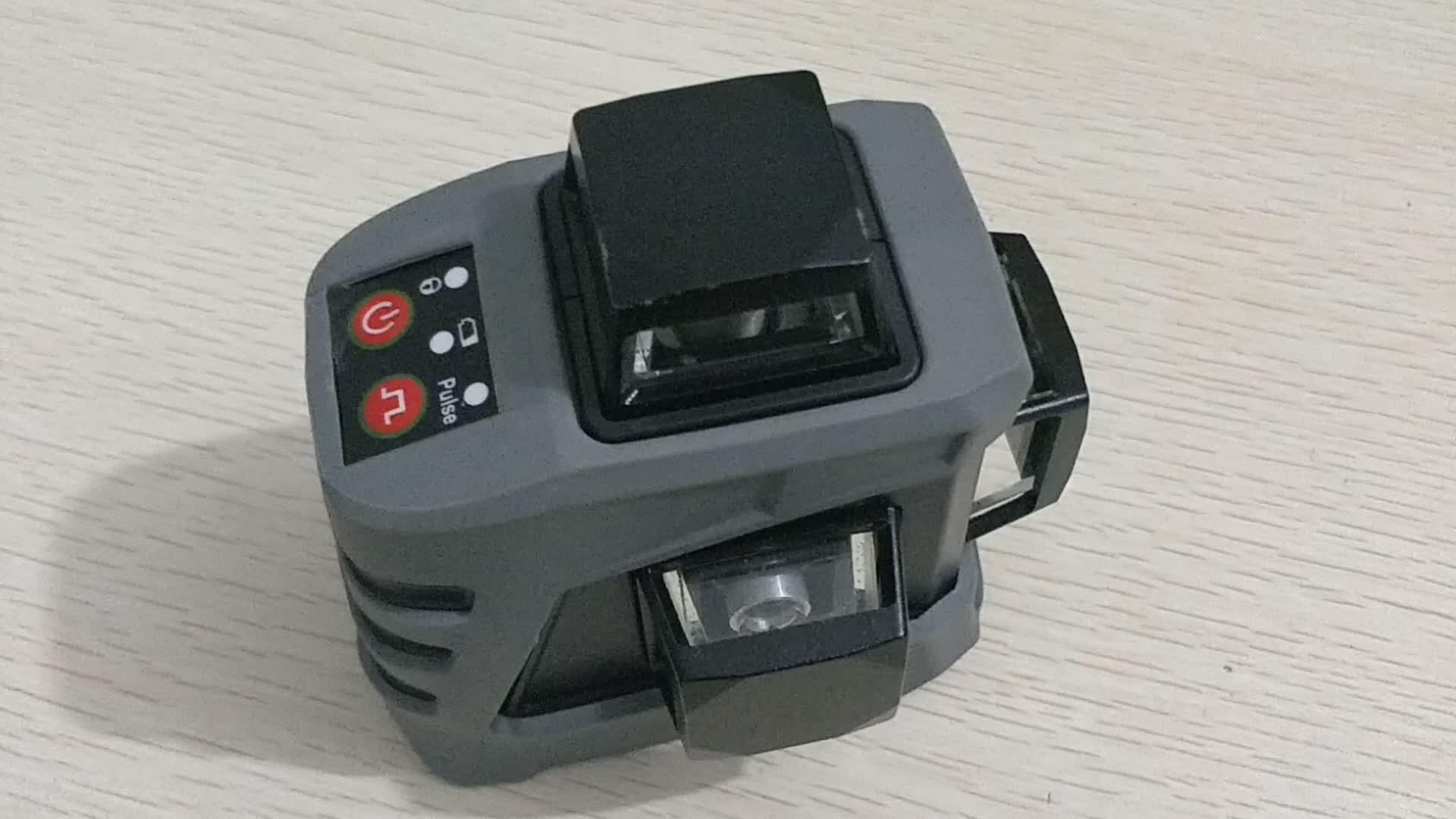 2019 Yeni 2-360 3D Kendini Tesviye lazer seviyesi göstergesi otomatik seviye