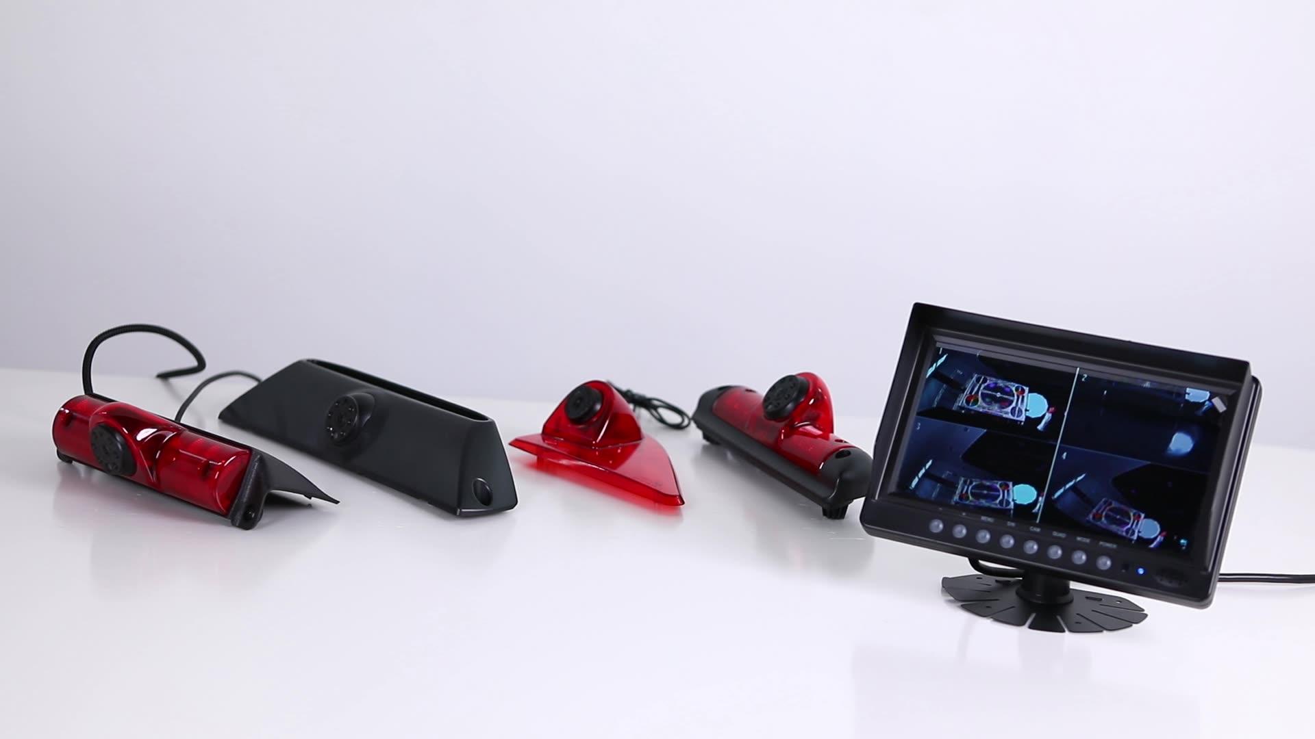 Color 1/3 CMOS Camera with 700TVL waterproof Brake light camera