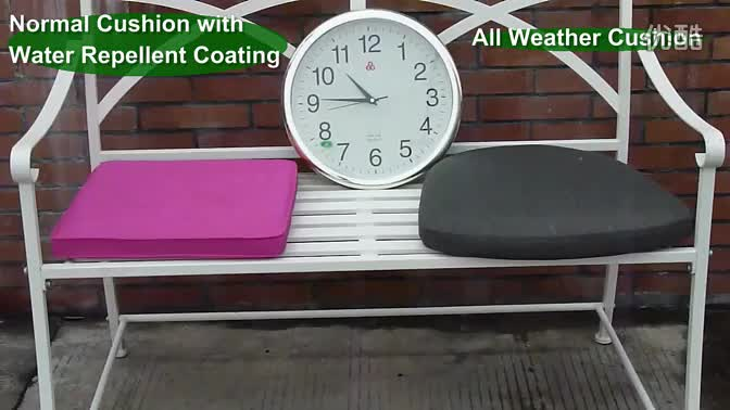 High quality Promotional Outdoor All weather  Seat Cushion Pad Chair Cushion 40x40
