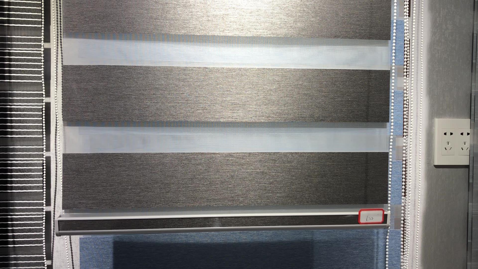 Hot Selling Fancy Custom Made Sunscreen Zebra Window Roller Blinds