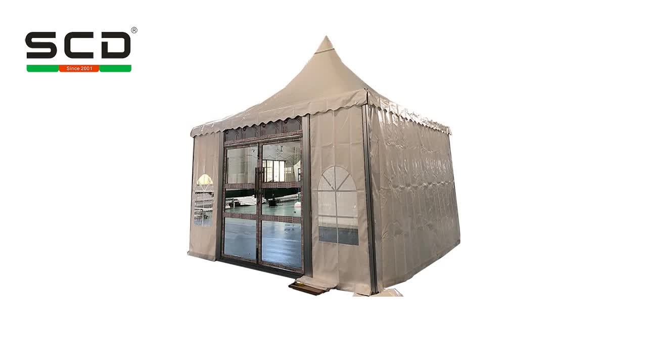 PVC Fabric Roof Cover High Quality Outdoor Party Event Pagoda Tent