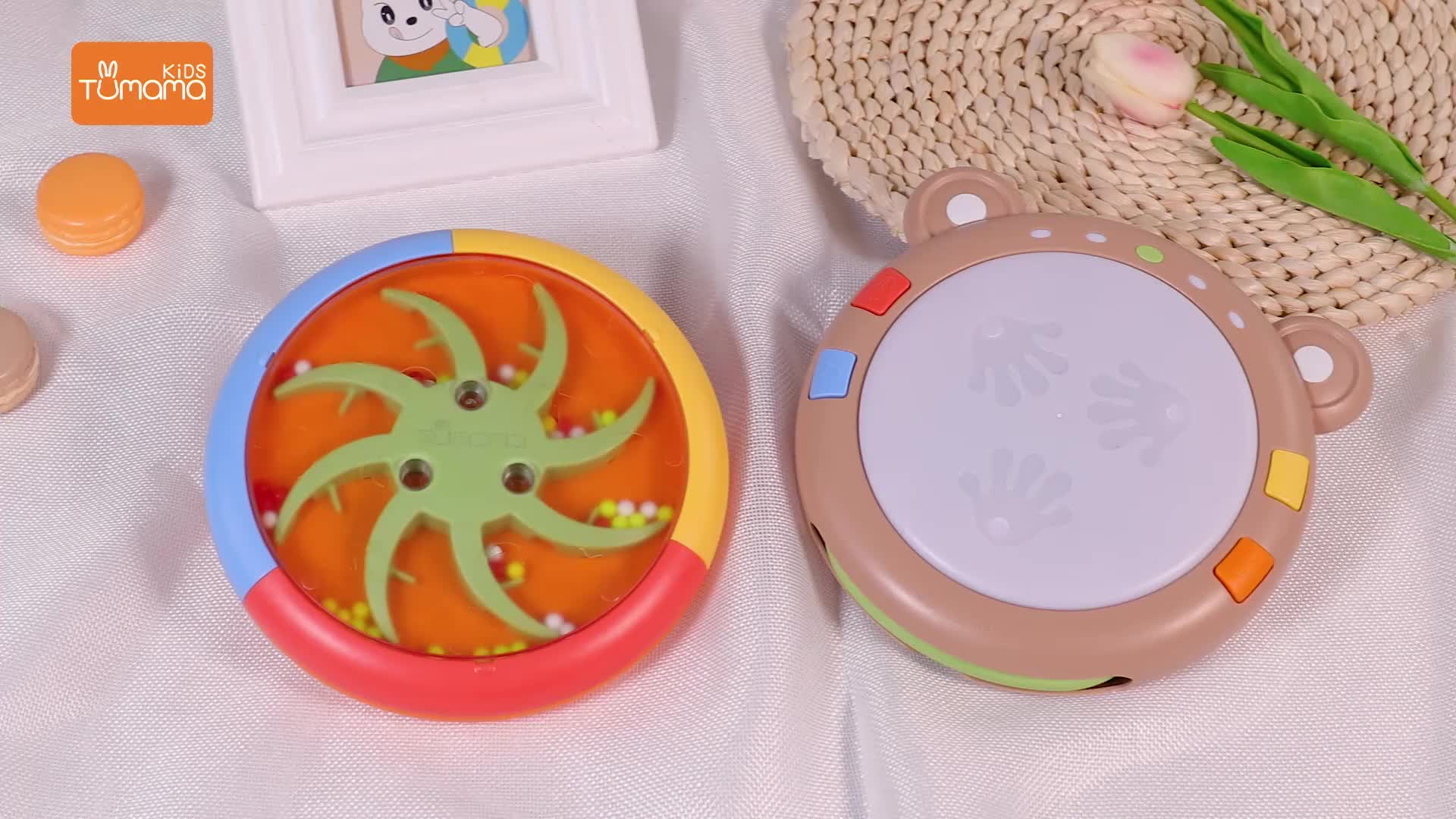 with light learning toy electronic musical instrument baby musical toy for child