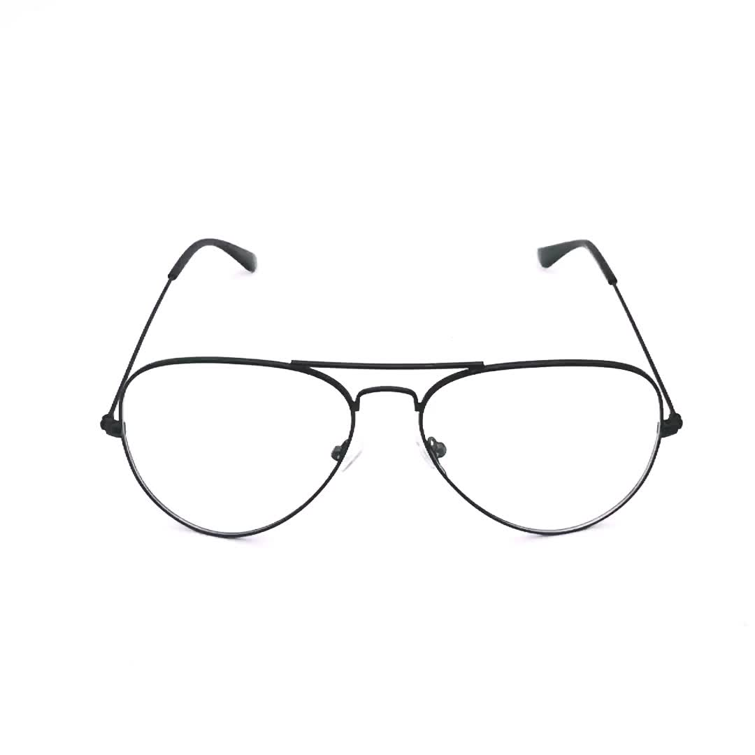 hot sale product metal frames optical OEM logo stainless steel spectacle classical eyewear frame in stock