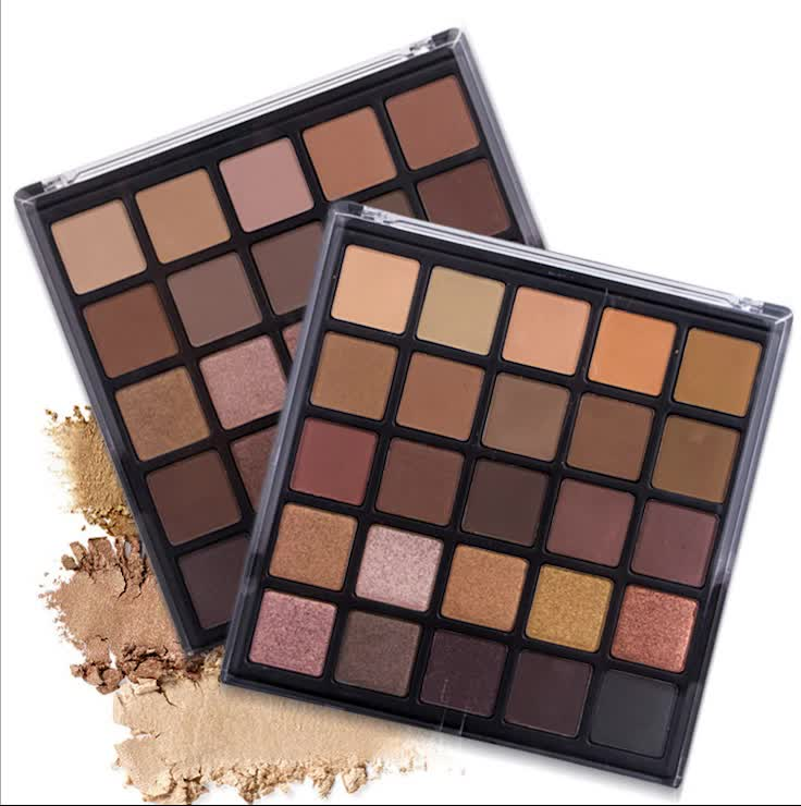 2019 Wholesale 25 Colors Minerals Girl Eye Shadow Palette