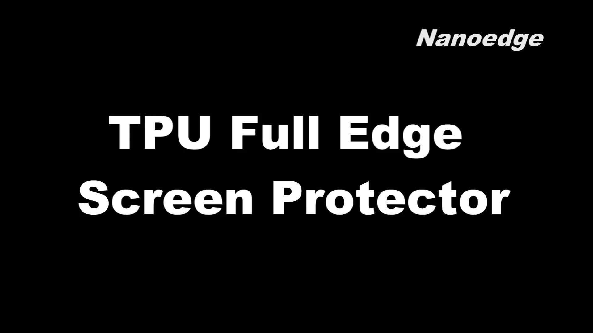 Nanoedge TPU 5D Curved Full Screen Clear S8 Lite Schutzfolie für Samsung S8 Plus