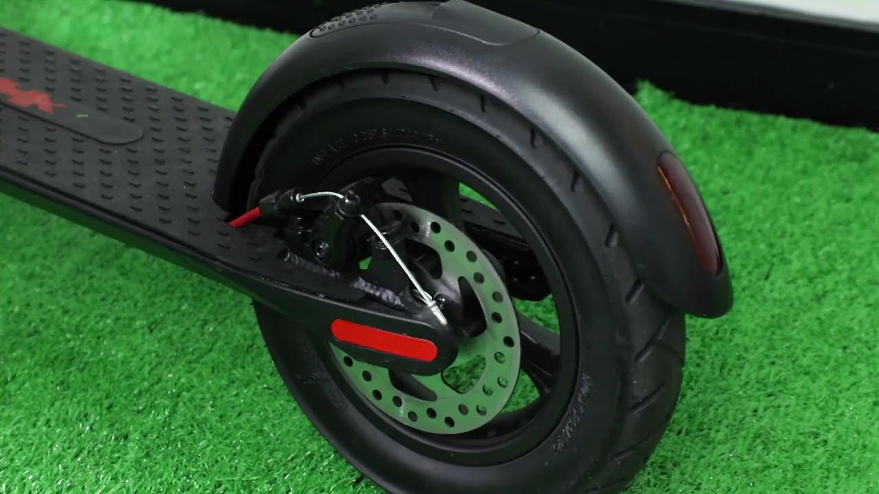 Nieuwe collectie X8 Ingebed batterij opvouwbare elektrische kick scooter voor volwassenen/verlengen afstand