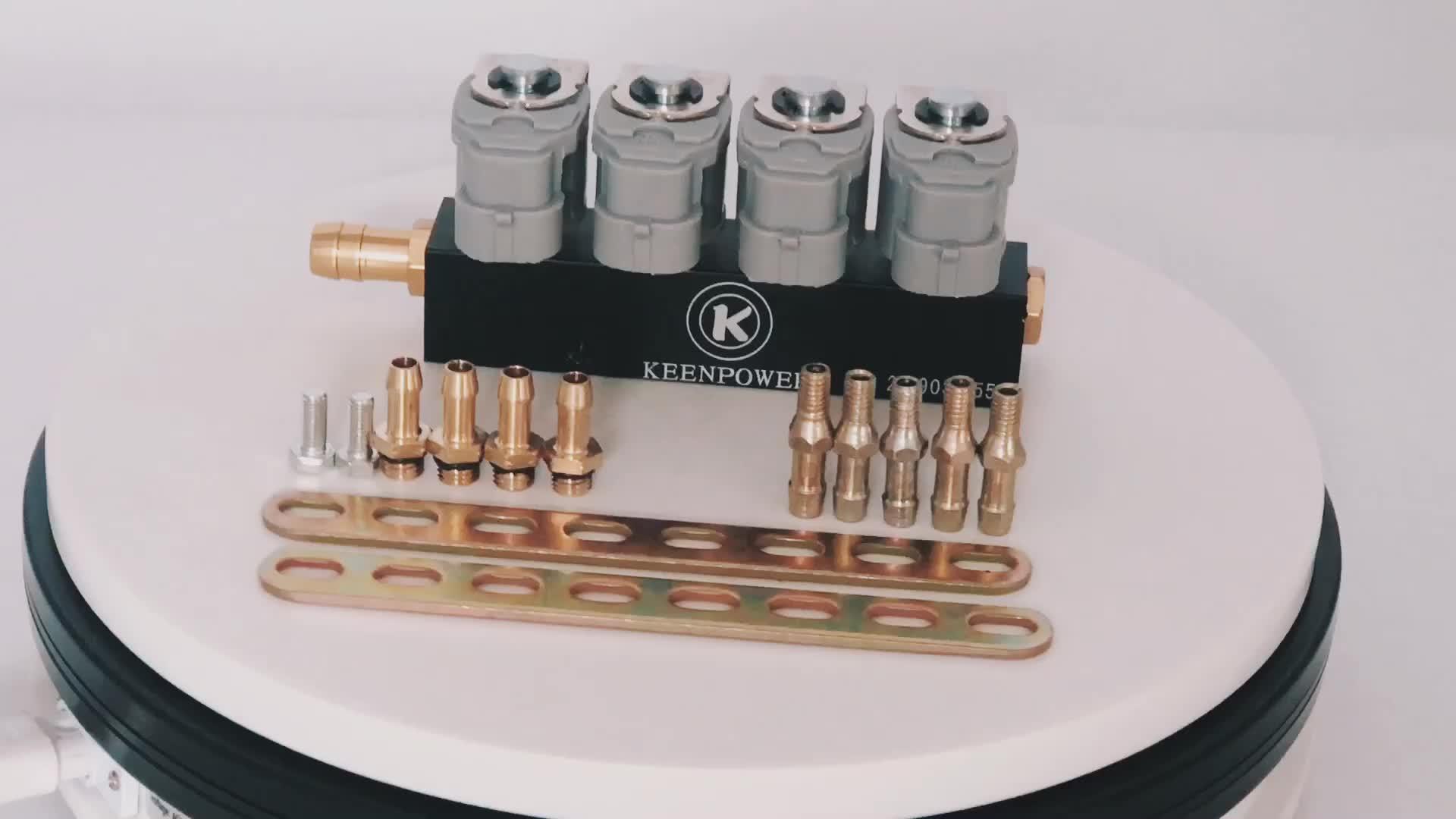 LPG/BBG/NGV Gas Fuel Injection untuk Berurutan Injeksi Kit