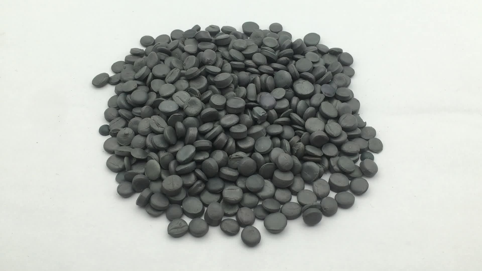 flexible wholesales black pvc compound granules rigid PVC granule for pvc pipe fitting