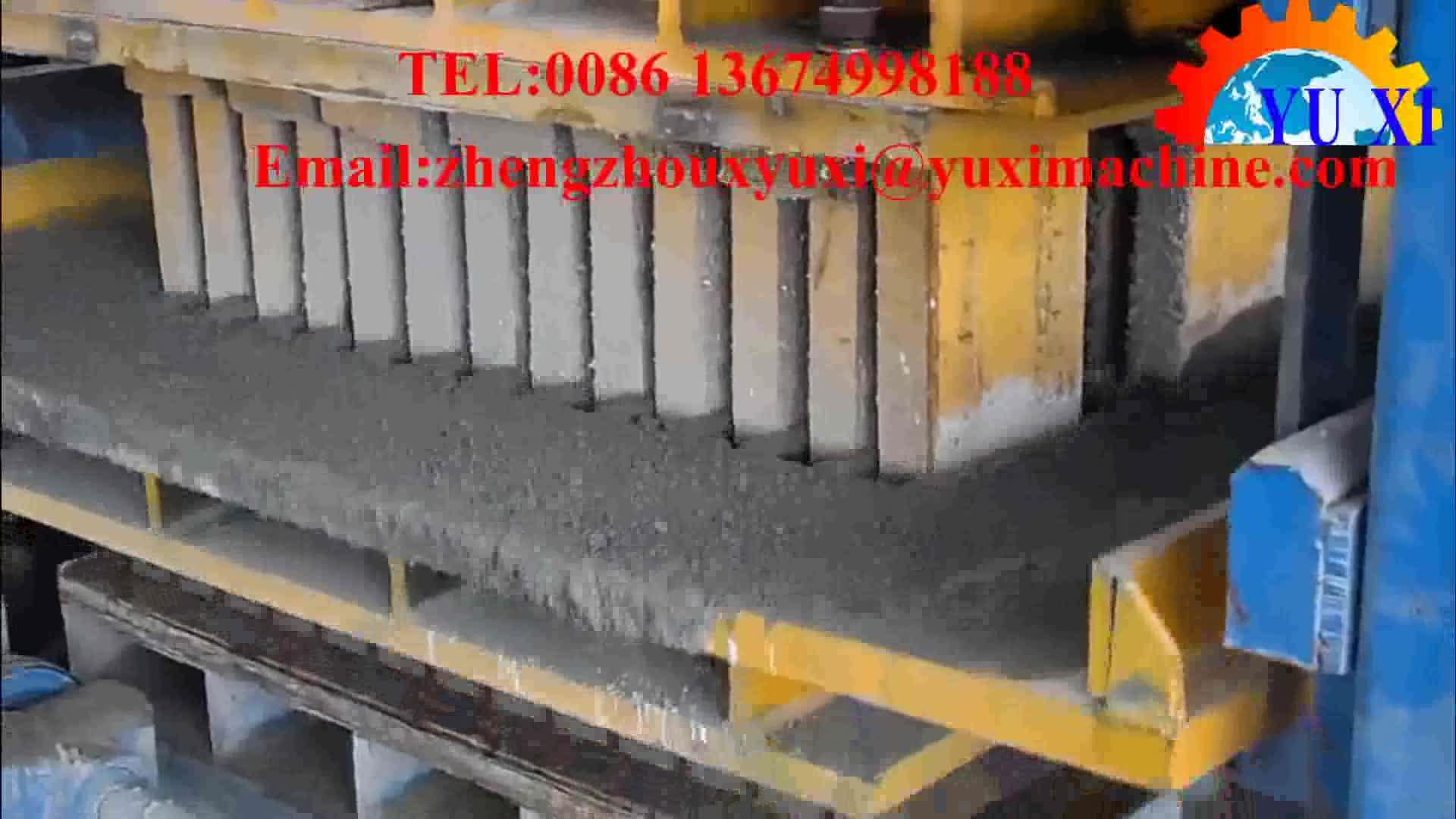 QT3-15 Yüksek Kalite Tam Otomatik Beton Çimento Hollow Blok Tuğla Kilitleme Finişer Yapma Makinesi Hindistan'da Fiyat