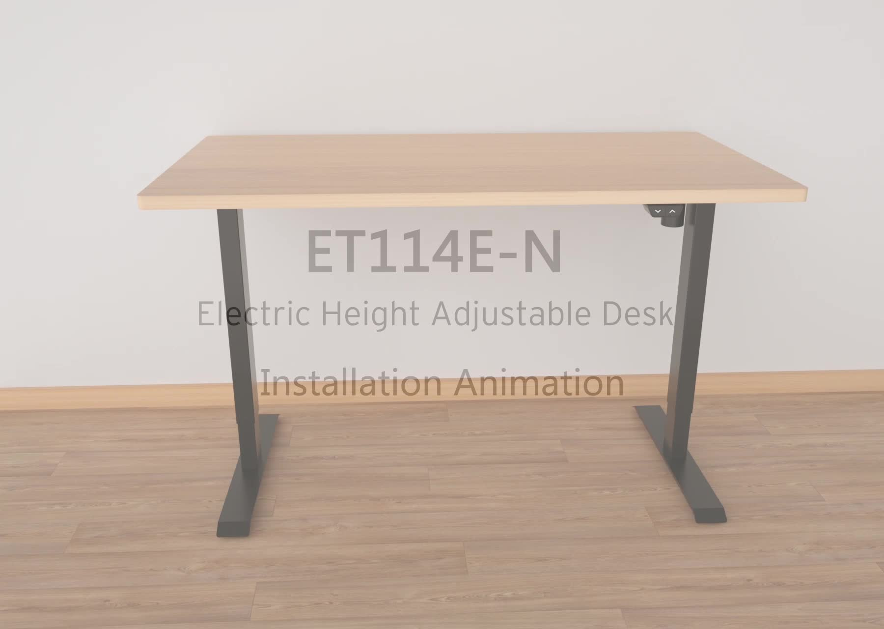 ET114E-N Cheap Home Office Popular height adjustable standing table desk