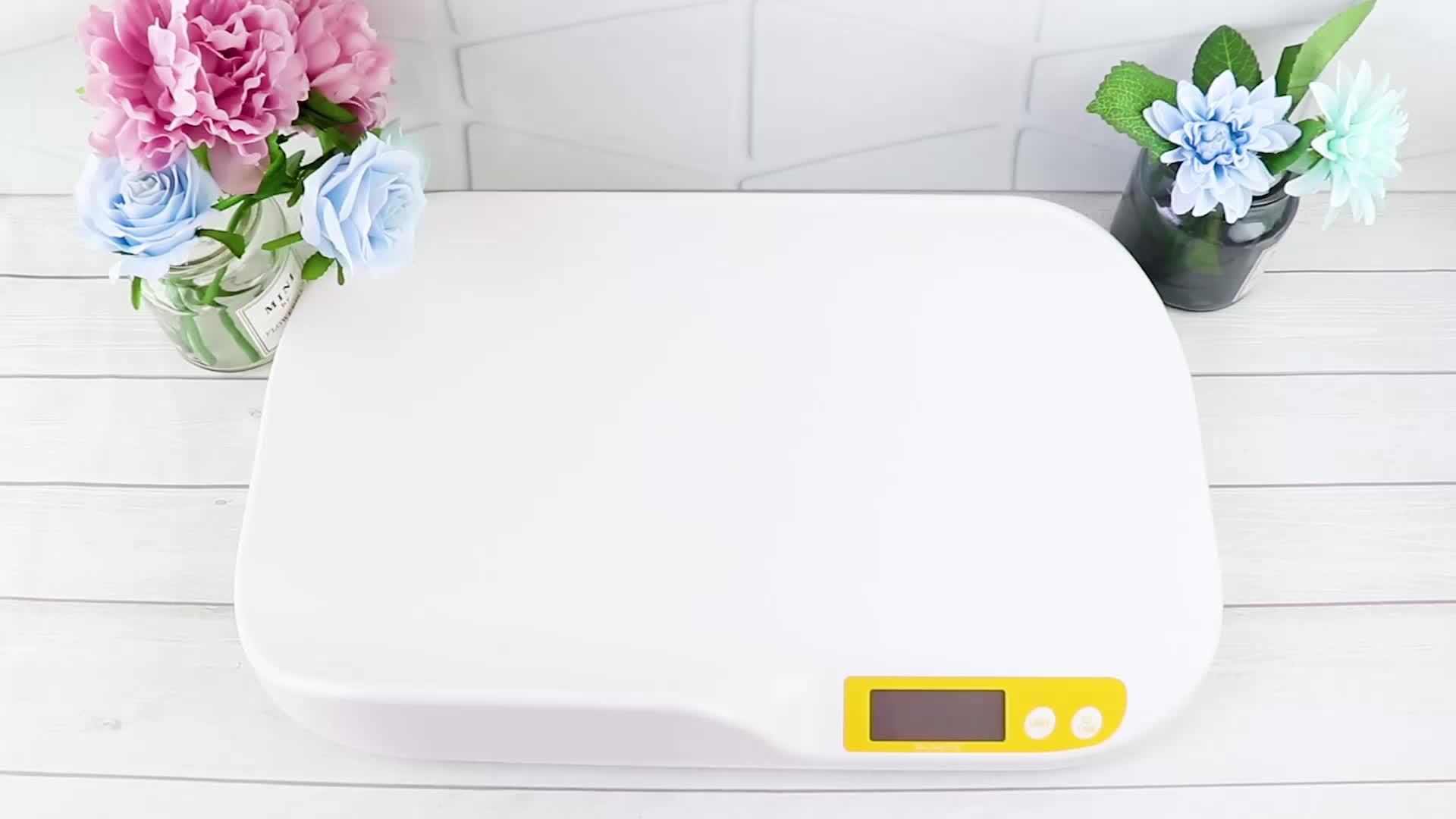 Abs Plastic Gebogen Beveiliging Hoge Precisie Kind Elektronische Digitale Baby Schaal Baby Weegschaal Digitale Baby Schaal