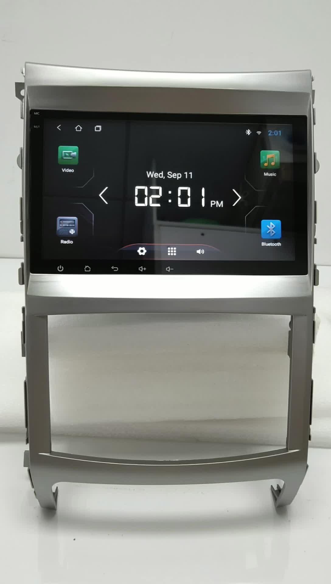 Capacitive touch screen car stereo Android 6.0 sistema de rádio de carro com gps para Hyundai ix55